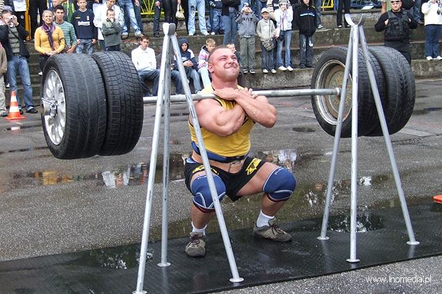 Strongman nastolatków